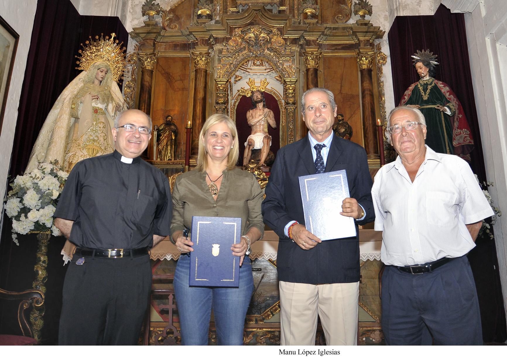 Firma del Convenio Rehabilitación Capilla del Sagrario