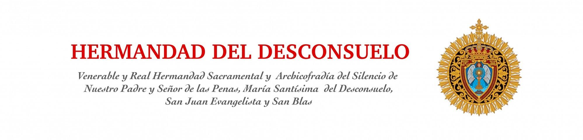 Web oficial de la Hermandad del Desconsuelo