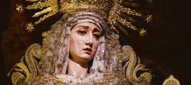 Cruz de Mayo y ofrenda floral a la Virgen del Desconsuelo