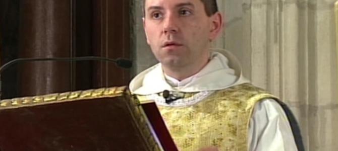 Fray Xavier Catalá ofrece este lunes 30 una conferencia eucarística en el Desconsuelo