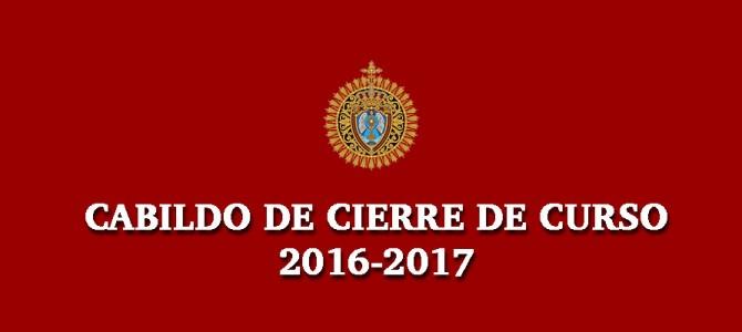 Cabildo General ordinario de Cuentas y Cierre de Curso