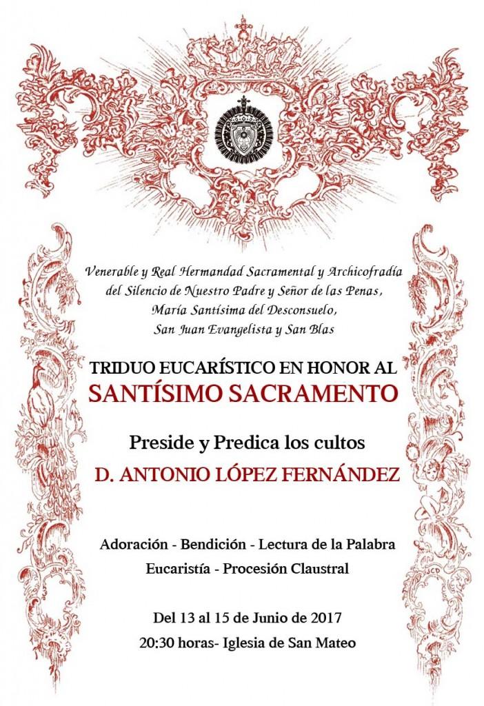 cultos stmo sacramento